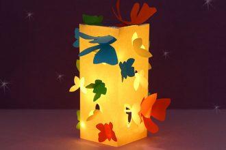 Paper lantern Butterfly