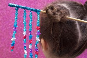 DIY Japanese Chopstick Hair Ornament - mypoppet.com.au