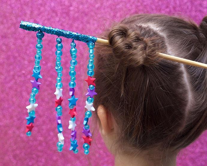 DIY Japon Chopstick Saç Süsleme - mypoppet.com.au