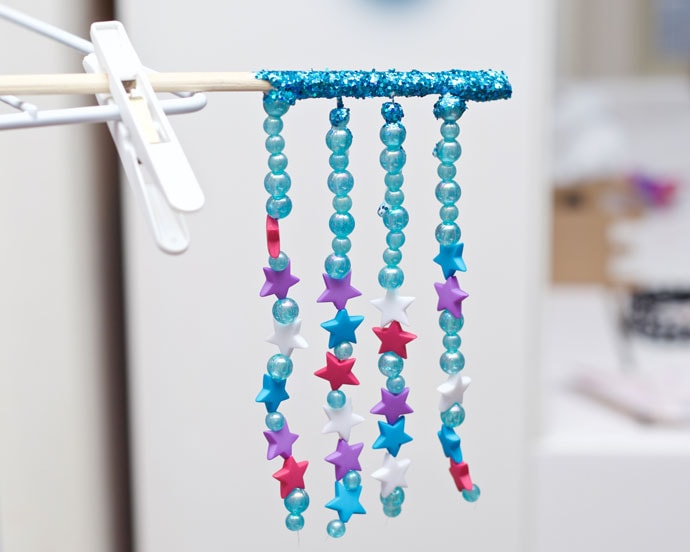 DIY chopstick hairpin ornament - mypoppet.com.au
