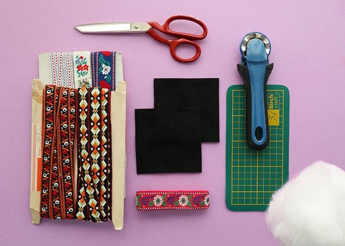 How to make a pincushion supplies - mypoppet.com.au