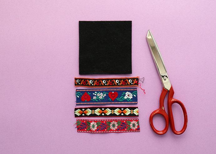 Vintage trim crafts - How to make a pincushion steps - mypoppet.com.au