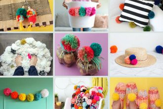 pom pom craft ideas - mypoppet.com.au