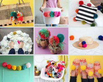 pom pom craft ideas - mypoppet.com.au