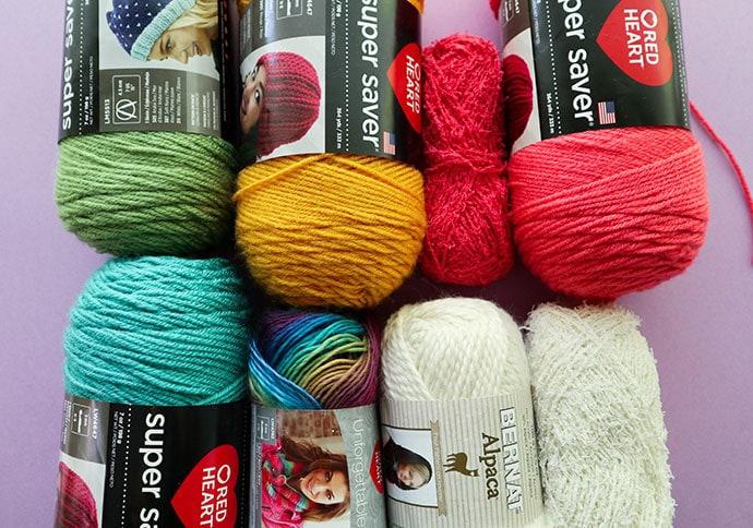 Latch hook cushion cover yarn needed - mypoppet.com.au