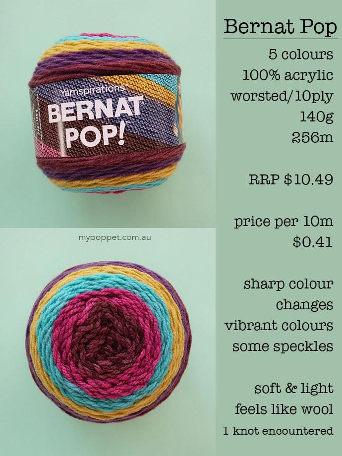 Bernat Pop reveiw - mypoppet.com.au