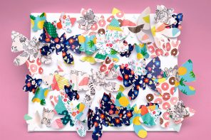 Paper Craft – DIY Butterfly Wall Art