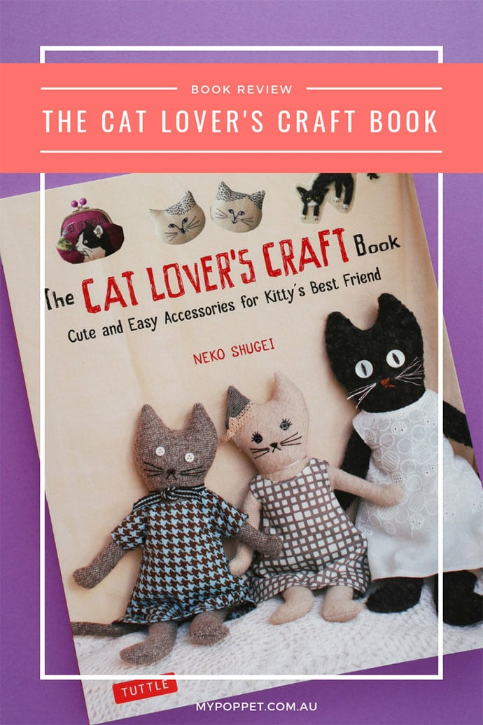 The cat lover's craft book review - mypoppet.com.au