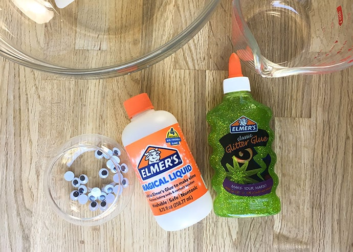 Green Glitter Slime making supplies - mypoppet.com.au