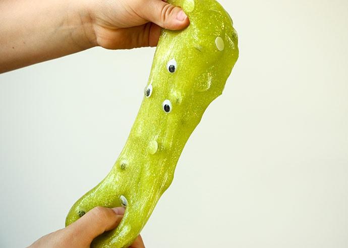 green halloween slime - mypoppet.com.au