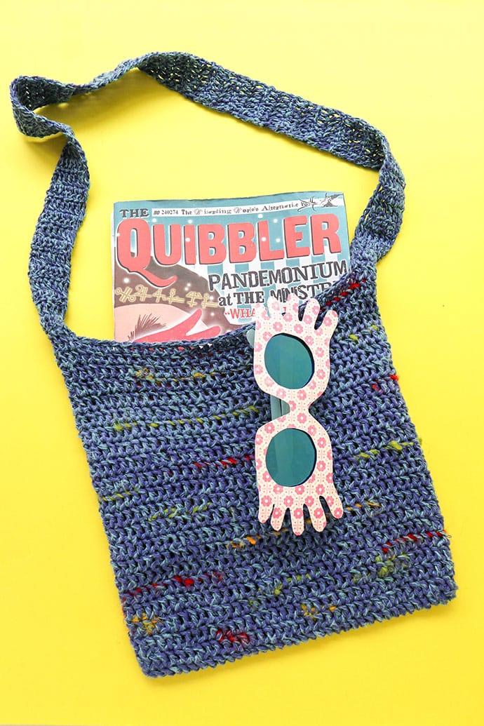 Luna Lovegood Tote Bag Crochet Pattern - mypoppet.com.au