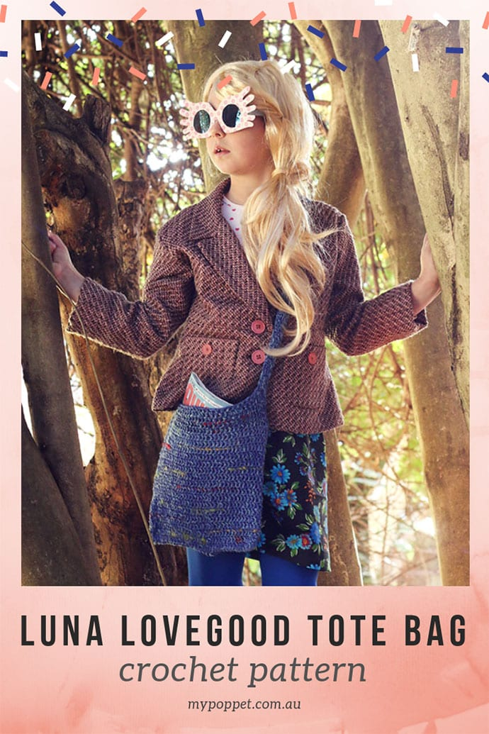 Luna Lovegood Bag crochet pattern - mypoppet.com.au