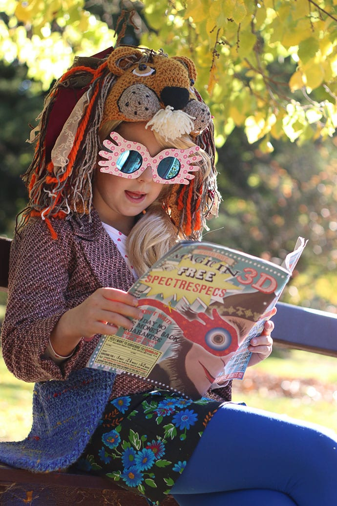 Luna Lovegood Costume With Diy Spectrespecs Instructions