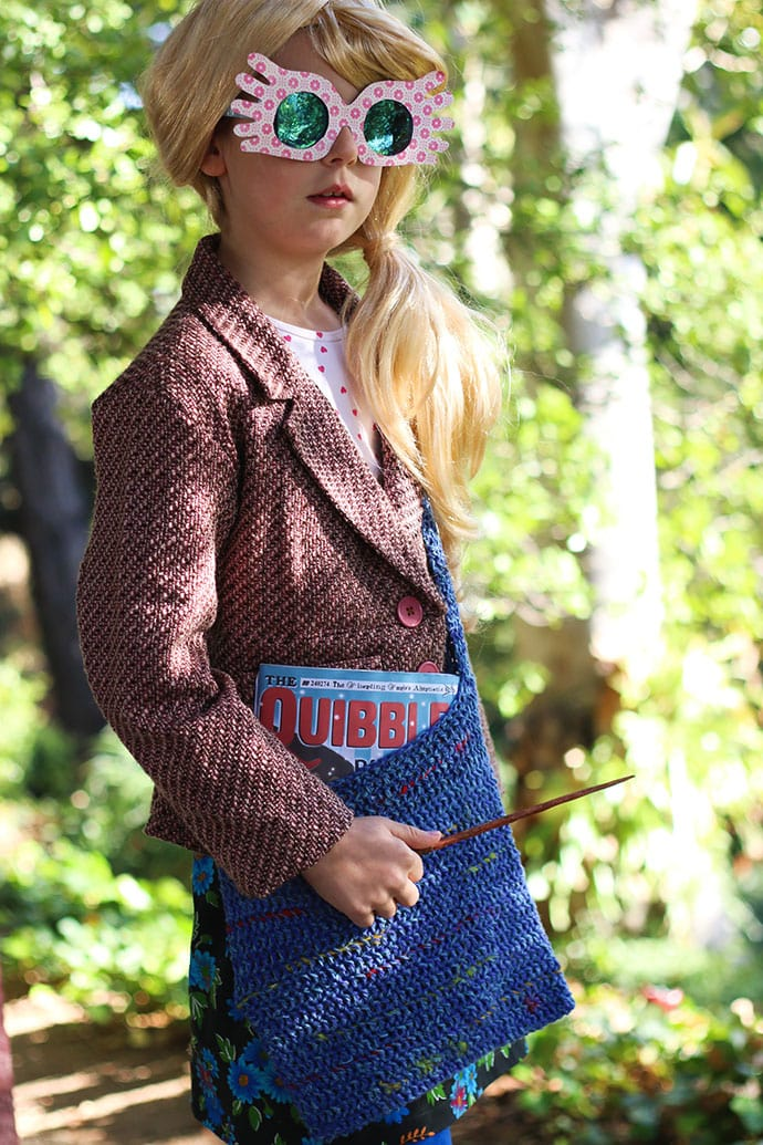 Luna Lovegood Costume DIY - mypoppet.com.au