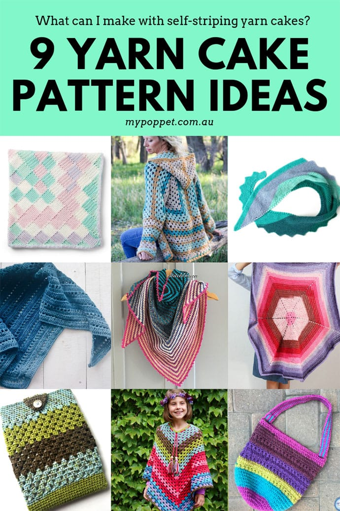 Yarn cake pattern ideas - mypoppet.com.au