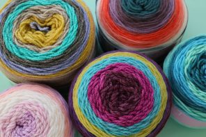 Self-Striping Yarn Cakes – Which brand do I choose? Pattern Ideas & FAQs