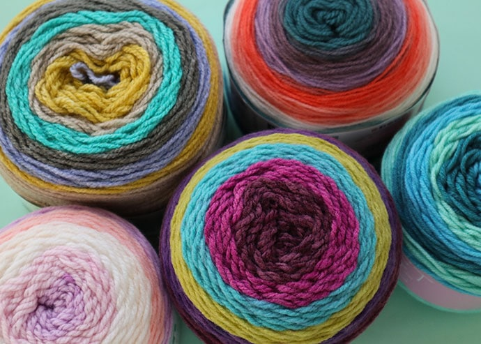 What is a yarn cake?