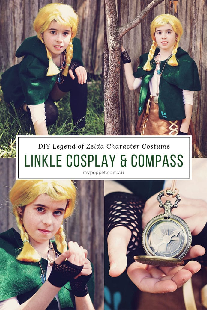 Diy Linkle Costume The Legend Of Zelda Cosplay My Poppet Makes