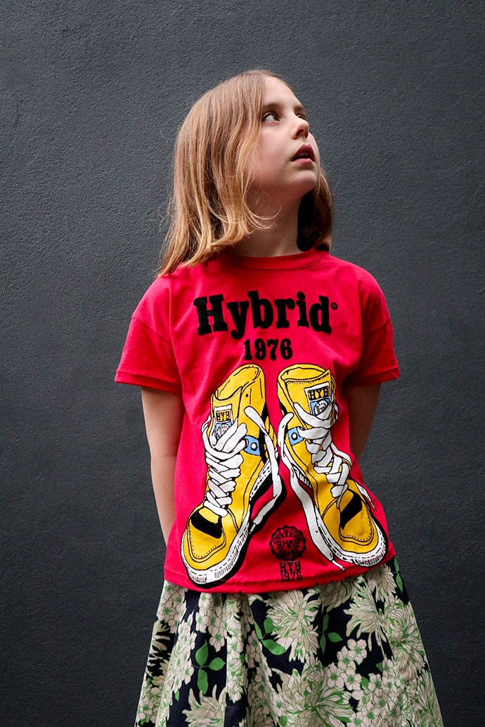 T-shirt refashion - Adult to kids size - mypoppet.com.au