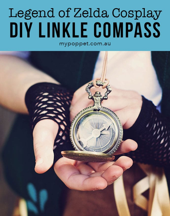 DIY Linkle Cosplay Compass - mypoppet.com.au