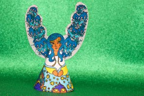 Printable Paper Angel Christmas Decoration