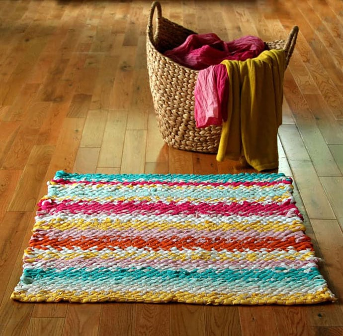 Diy Rug From Old Clothes