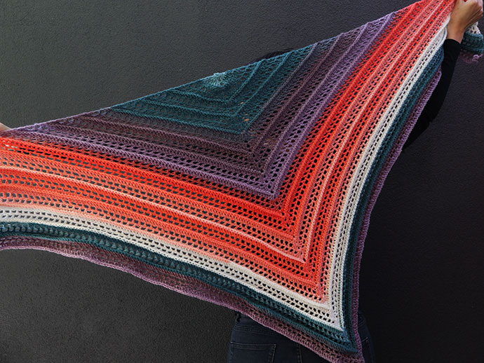 Free crochet pattern Mandala yarn cake - mypoppet.com.au