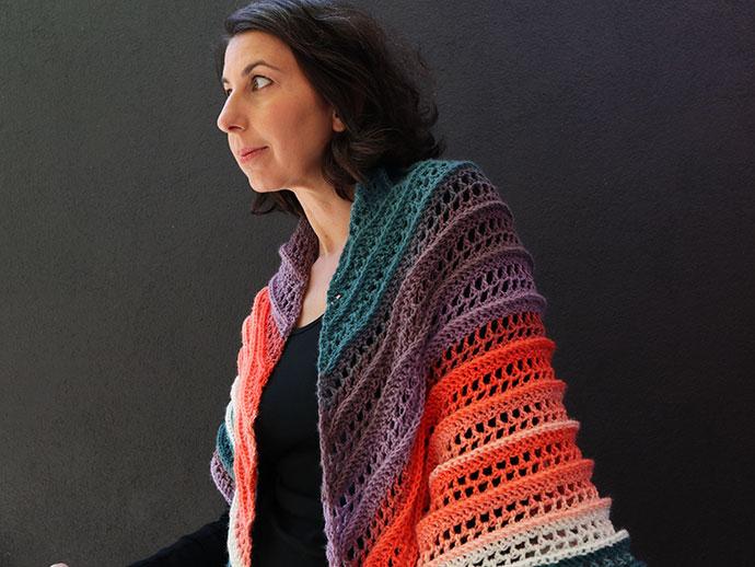 Crochet shawl pattern - mypoppet.com.au
