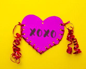 paper craft heart pouch mypoppet.com.au