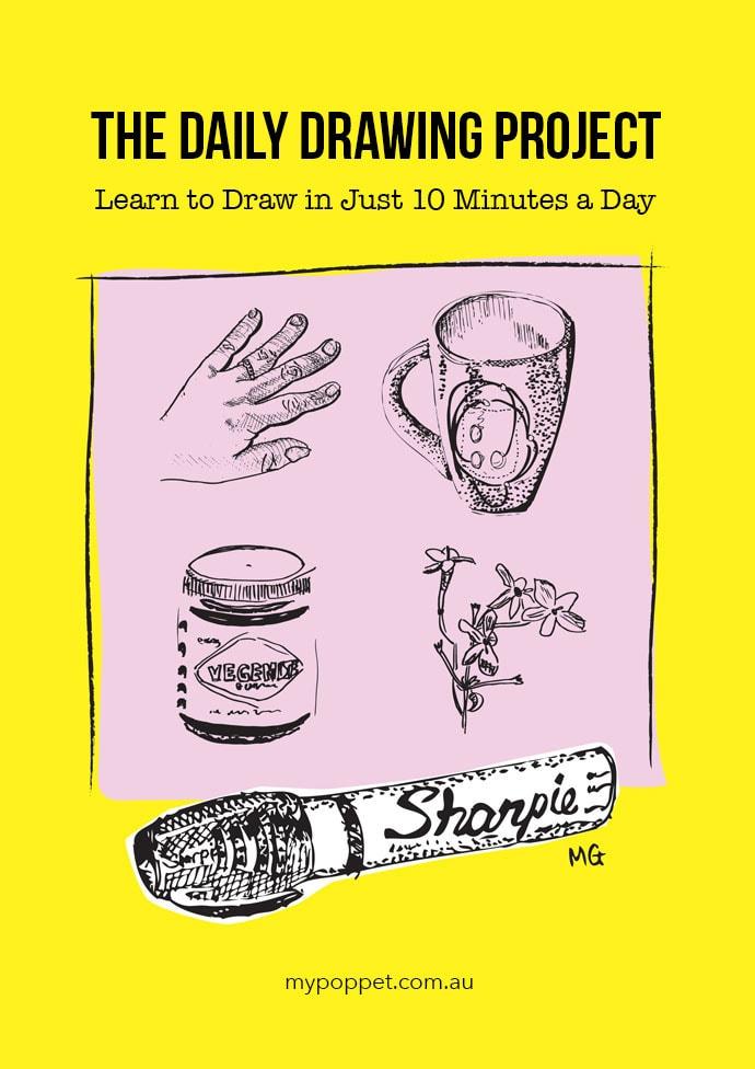 Научитесь рисовать всего за 10 минут в день