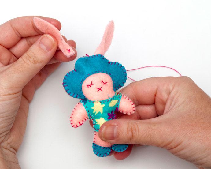 Easter Felt Craft Bunny Doll – mypoppet.com.au
