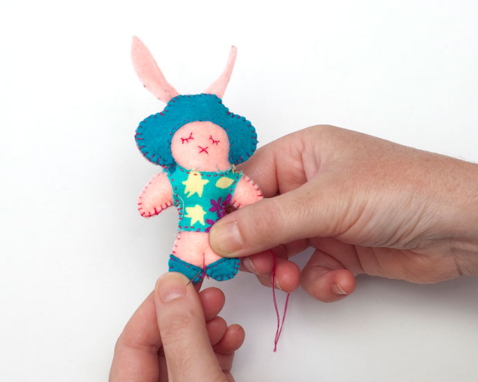 Easter Felt Craft Bunny Doll – mypoppet.com.au