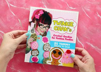 Book Review - Twinkie Chan's Crochet Goodies for fashion foodies craft book - mypoppet.com.au