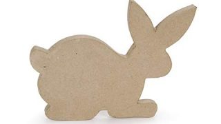3D Paper Mache Easter Bunny