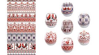 Pysanka Decoration Easter Egg Wrappers