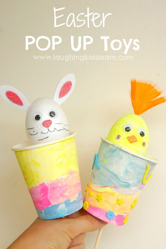 Easter Puppets by Laughing Kids Learn