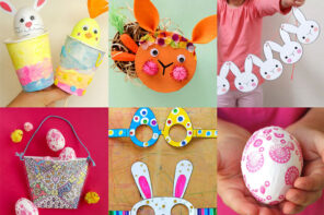 kids easter craft project ideas featured image