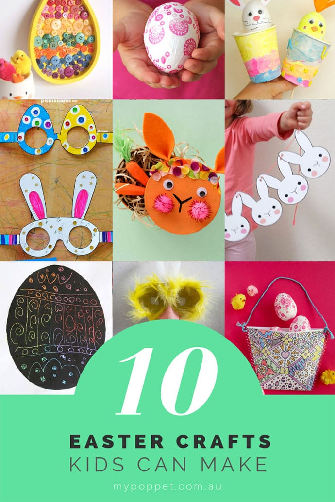 Easter Crafts for kids - Easy easter craft ideas - mypoppet.com.au