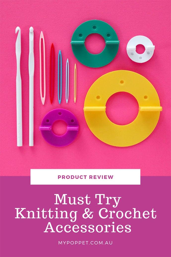 Knitting and Crochet tools flaylay