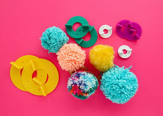 How to use a pom pom maker - mypoppet.com.au