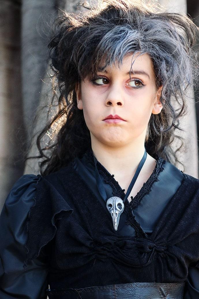 Bellatrix Lestrange cosplay - mypoppet.com.au