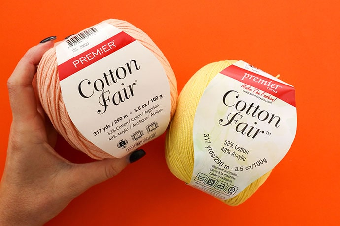 Premier Cotton Flair Yarn review - mypoppet.com.au