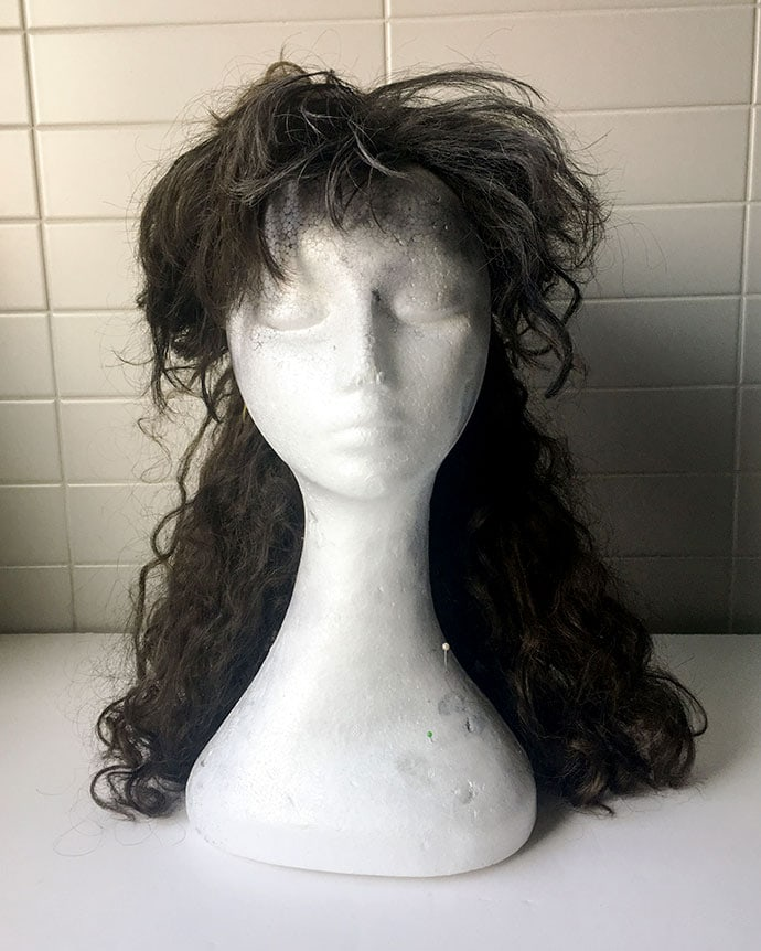 How to style a bellatrix lestrange wig