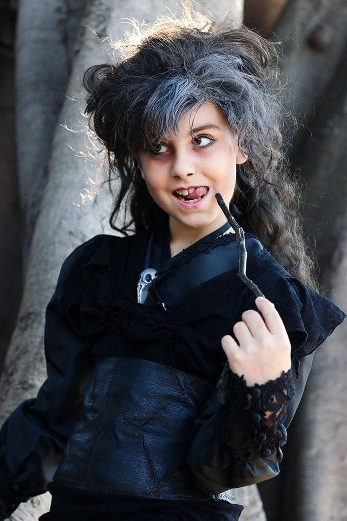 Bellatrix lestrange kids costume - mypoppet.com.au