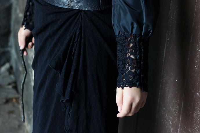 DIY Bellatrix Lestrange Costume - mypoppet.com.au