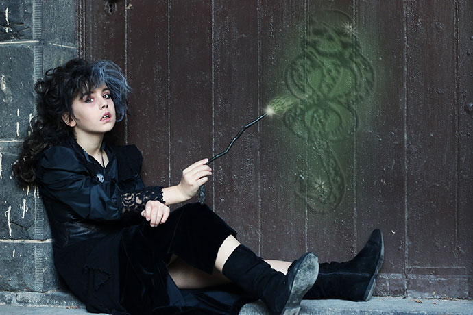 How to make a bellatrix lestrange wand - mypoppet.com.au