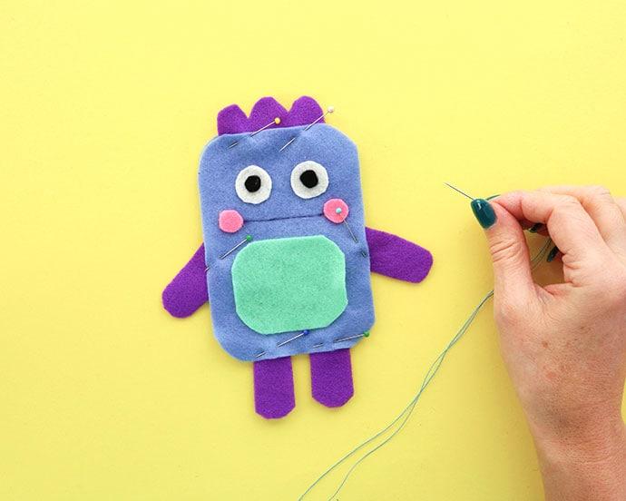 Sew a soft toy pattern - mypoppet.com.au