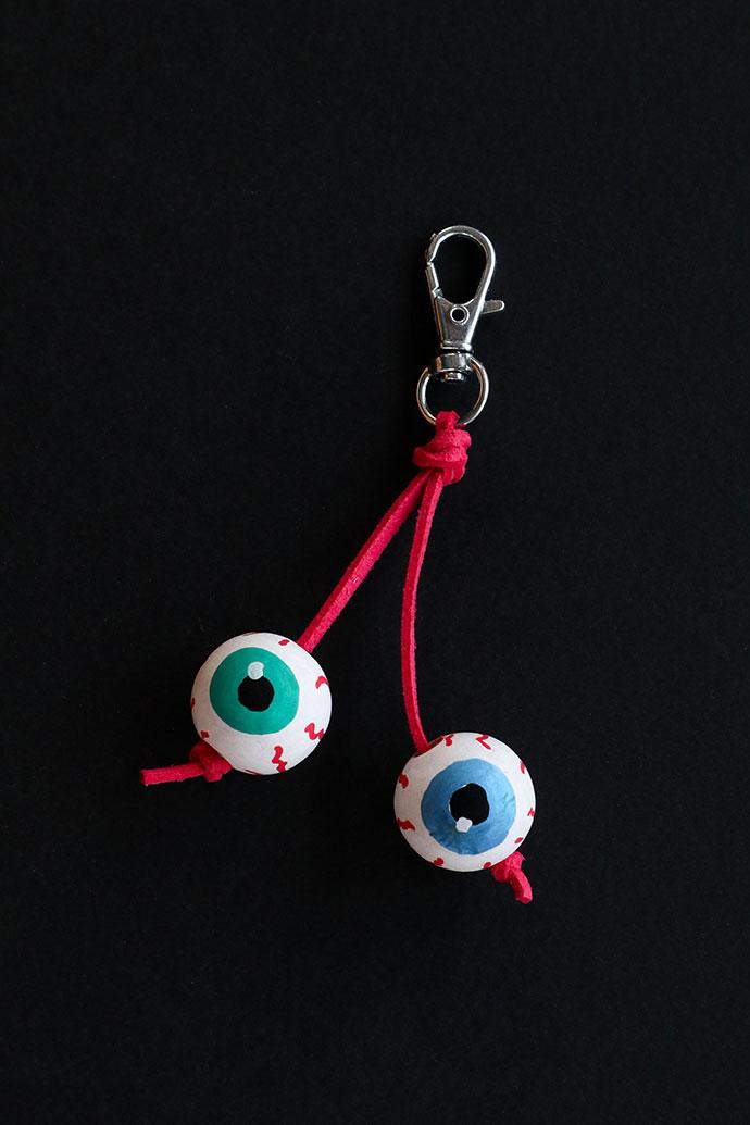 Eyeball Keyring Craft - mypoppet.com.au