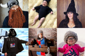 Knitted and Crochet Halloween Costume patterns - mypoppet.com.au