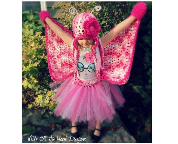 Butterfly Costume Crochet Pattern